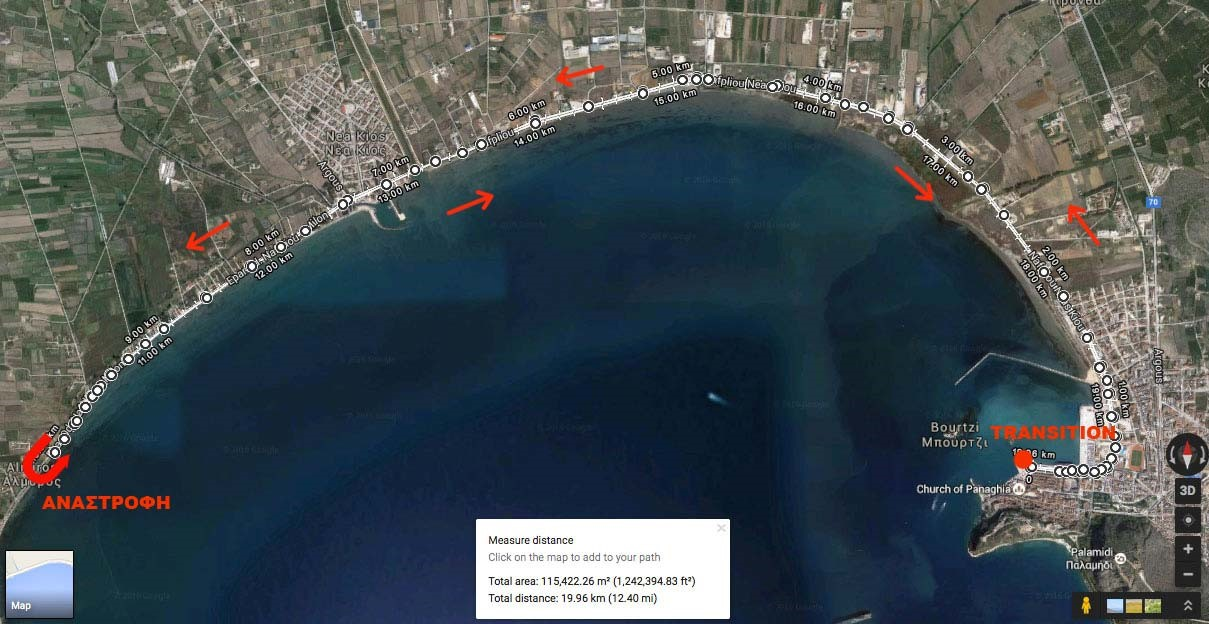Nafplio Energy Triathlon_bike route